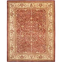 "Safavieh Handmade Persian Legend Rust/ Beige Wool Rug - 8'3"" x 11'"