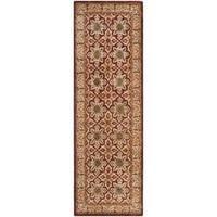 "Safavieh Handmade Persian Legend Beige Wool Rug - 2'6"" x 8'"