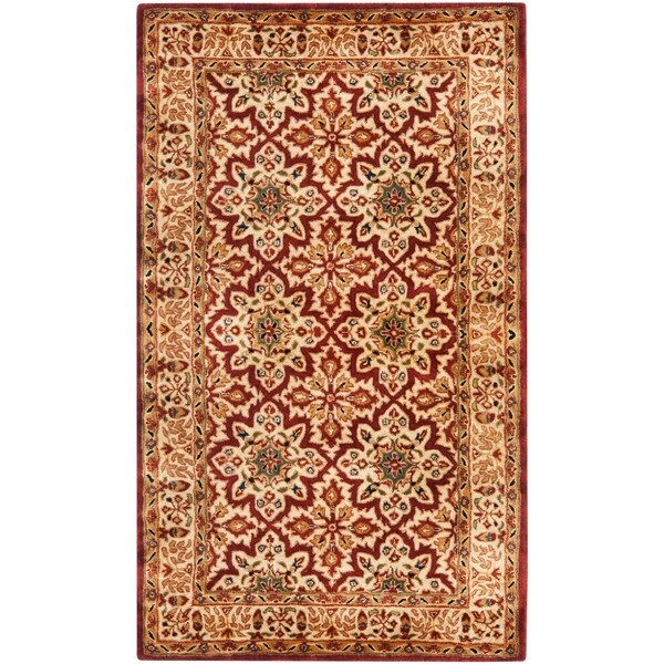 Shop Safavieh Handmade Persian Legend Beige Wool Rug