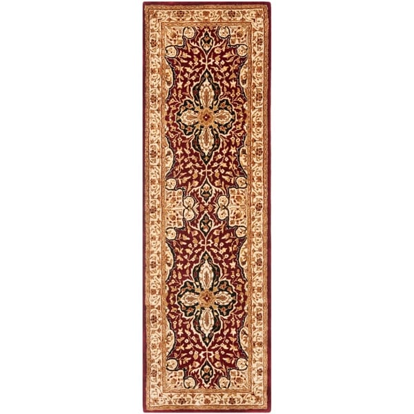 Shop Safavieh Handmade Persian Legend Red/ Beige Wool Rug