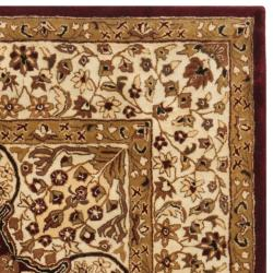 Safavieh Handmade Persian Legend Red/ Beige Wool Rug (7'6 x 9'6)