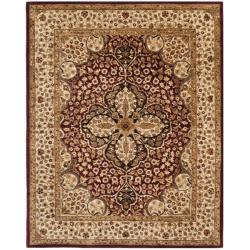 Safavieh Handmade Persian Legend Red/ Beige Wool Rug (7'6 x 9'6)