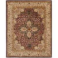 Safavieh Handmade Persian Legend Red/ Beige Wool Rug - 7'6 x 9'6