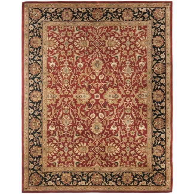 Safavieh Handmade Persian Legend Rust/ Black Wool Rug (7'6 x 9'6)