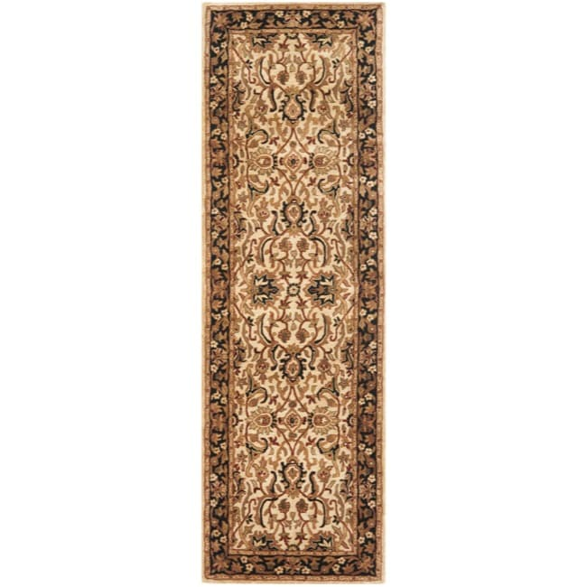 Safavieh Handmade Persian Legend Ivory/ Black Wool Rug (2...