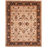 "Safavieh Handmade Persian Legend Ivory/ Black Wool Rug - 7'6"" x 9'6"""