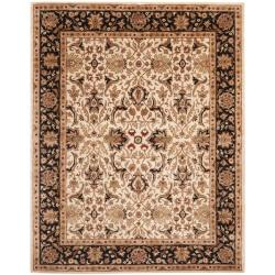 Safavieh Handmade Persian Legend Ivory/ Black Wool Rug - 8'3 x 11' - Thumbnail 0
