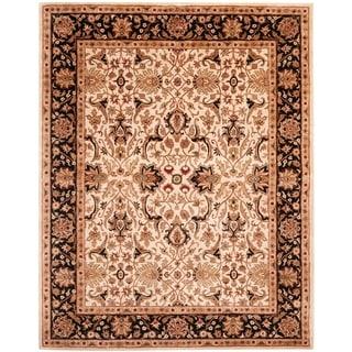 "Safavieh Handmade Persian Legend Ivory/ Black Wool Rug - 8'3"" x 11'"