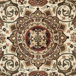 Safavieh Handmade Persian Legend Red/ Ivory Wool Rug (7'6 x 9'6)