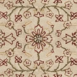 Safavieh Handmade Persian Legend Traditional Ivory/Rust Wool Rug (4' x 6') - Thumbnail 2