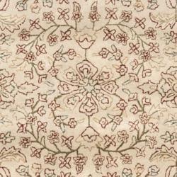 Safavieh Handmade Persian Ivory/ Rust Oriental Wool Rug (7'6 x 9'6) - Thumbnail 2