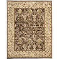 Safavieh Handmade Persian Legend Brown/ Beige Wool Rug - 9'6 x 13'6