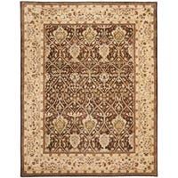 """Safavieh Handmade Persian Legend Brown/ Beige Wool Rug - 9'6"""" x 13'6"""""""