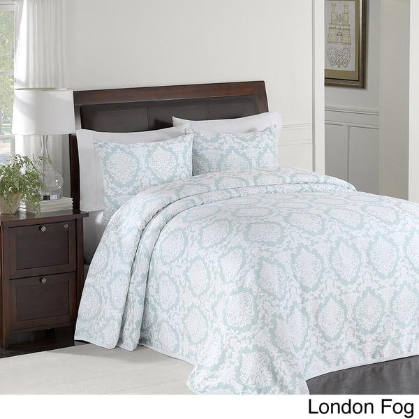 Nadine Matelasse 100-percent Cotton Matelasse Brocade Design Bedspread