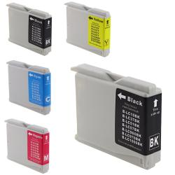 INSTEN Brother LC51 Compatible Ink Combo (Pack of 5)