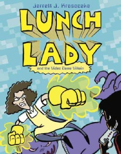 Lunch Lady 9: And the Video Game Villain (Paperback)
