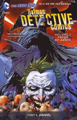 Batman Detective Comics 1: Faces of Death (Paperback)