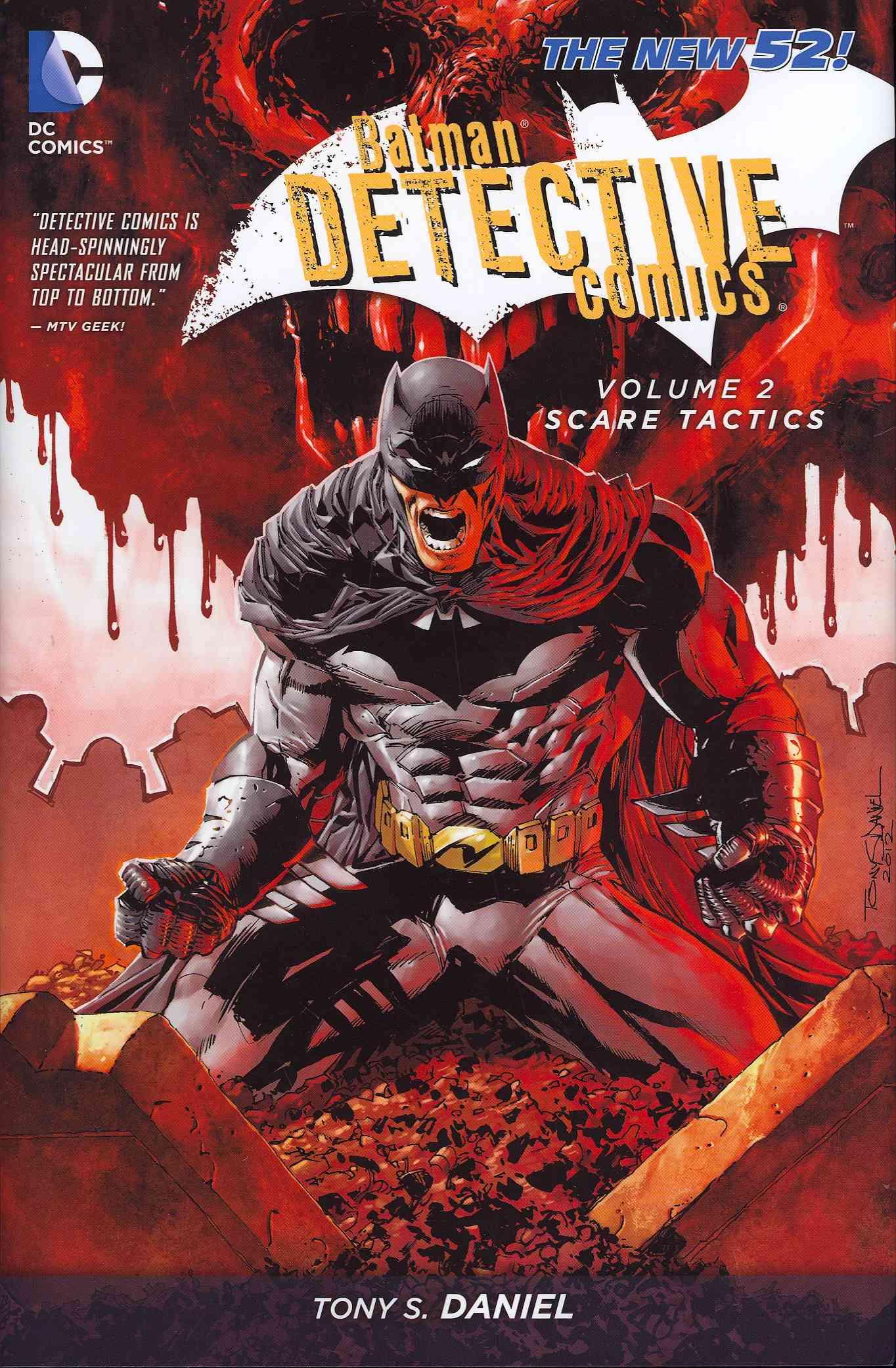 Batman Detective Comics 2: Scare Tactics  (Hardcover)