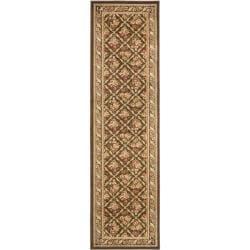Safavieh Lyndhurst Traditional Floral Trellis Brown Rug (2'3 x 16')