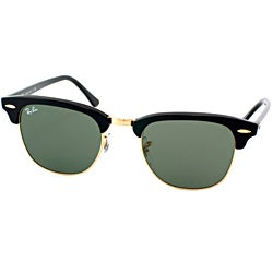 ray ban glass sale  ray ban unisex 'clubmaster w0365' round sunglasses
