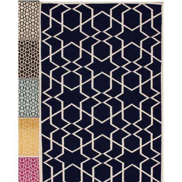 nuLOOM Handmade Flatweave Marrakesh Kilim Wool Rug (5' x 8')