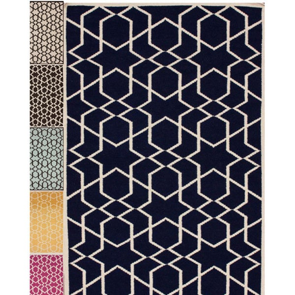 nuLOOM Handmade Flatweave Marrakesh Kilim Wool Area Rug