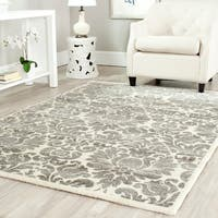 Safavieh Porcello Glam Damask Grey/ Ivory Rug (8' x 11'2) - 8' x 11'2