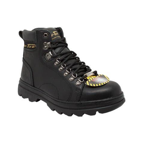 AdTec Men's 1980 6 inch Steel Toe Hiker Boots