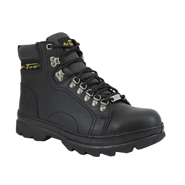 AdTec Men's 6-inch Steel Toe Hiker Boots - Thumbnail 0