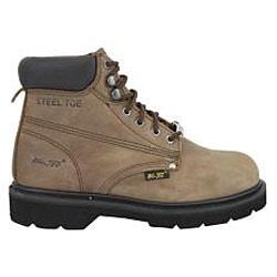 AdTec Men's 1981 6 inch Steel Toe Nubuck Hiker Boots - Thumbnail 1