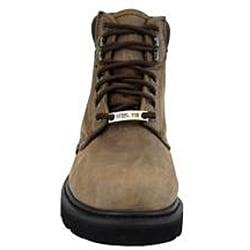 AdTec Men's 1981 6 inch Steel Toe Nubuck Hiker Boots - Thumbnail 2