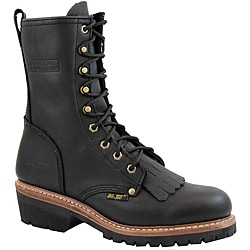 AdTec by Beston Men's 1964 10 inch Fireman Logger Boots - Thumbnail 0