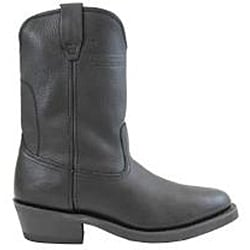 AdTec Men's 1511 Ranch Wellington Boots Tumble Black - Thumbnail 1