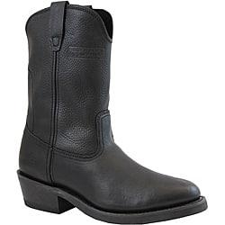 AdTec Men's 1511 Ranch Wellington Boots Tumble Black|https://ak1.ostkcdn.com/images/products/6851982/AdTec-Mens-1511-Ranch-Wellington-Boots-Tumble-Black-P14377564.jpg?impolicy=medium