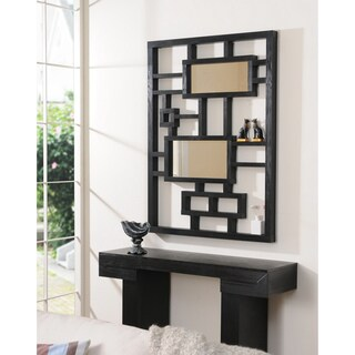 Furniture of America Maliati Contemporary Mirror Display Frame - Black