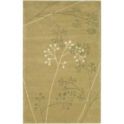 Safavieh Handmade Vine Sage New Zealand Wool Rug (8'3 x 11')