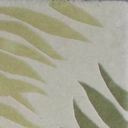 Safavieh Handmade Ferns Ivory New Zealand Wool Rug (3'6 x 5'6')