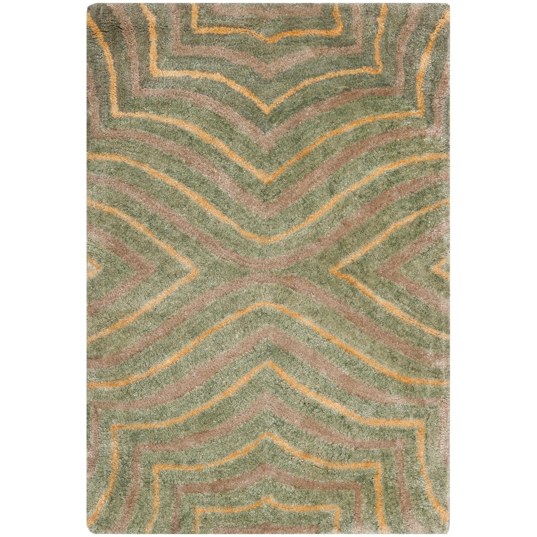 Safavieh Handmade Soho Nedaa N Z Wool Rug