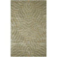 Safavieh Handmade Maz Grey New Zealand Wool Rug - 7'6 x 9'6