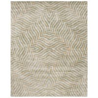 "Safavieh Handmade Maz Grey New Zealand Wool Rug - 7'6"" x 9'6"""