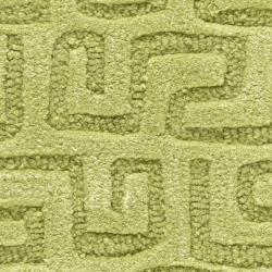 Safavieh Handmade Puzzles Green New Zealand Wool Rug (2' x 3') - Thumbnail 2