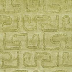 Safavieh Handmade Puzzles Green New Zealand Wool Rug (9'6 x 13'6) - Thumbnail 2