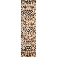 Safavieh Handmade Tribal Beige New Zealand Wool Runner Rug - 2'6 x 12'