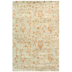 Safavieh Handmade Tranquility Light Green New Zealand Wool Rug - 8'3 x 11' - Thumbnail 0
