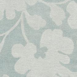 Safavieh Handmade Shadows Light Blue New Zealand Wool Rug (5'x 8') - Thumbnail 2