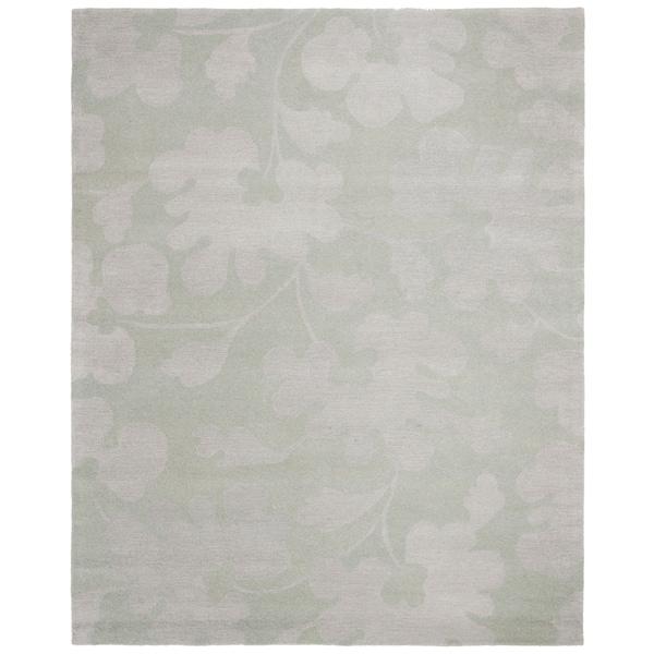 "Safavieh Handmade Shadows Light Blue New Zealand Wool Rug - 8'3"" x 11'"