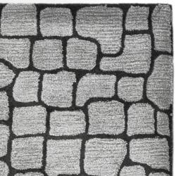 Safavieh Handmade Terra Grey New Zealand Wool Rug (9'6 x 13'6) - Thumbnail 1