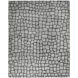 Safavieh Handmade Terra Grey New Zealand Wool Rug (3'6 x 5'6')