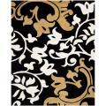 Safavieh Handmade Silhouettes Brown New Zealand Wool Rug - 7'6 x 9'6