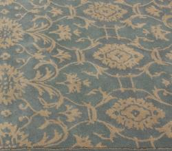 nuLOOM Handmade Persian Motif Light Blue Wool Rug (5' x 8') - Thumbnail 2